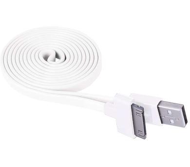 USB kabel 2.0 A/M - i30P/M 1m bílý