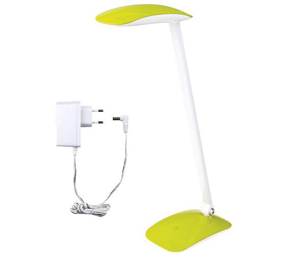 LED stolní lampa MA66 zelená s USB