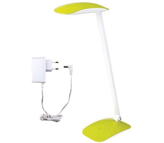 LED stolní lampička MA66 zelená s USB + DOPRAVA ZDARMA