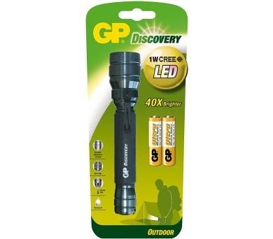 GP LOE102 + 2x AA baterie GP Ultra + DOPRAVA ZDARMA