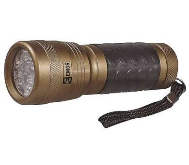 LED svítilna kovová