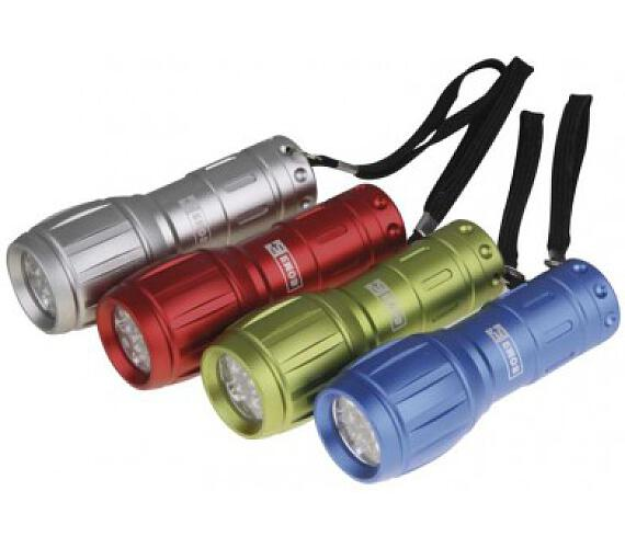 LED svítilna kovová + DOPRAVA ZDARMA