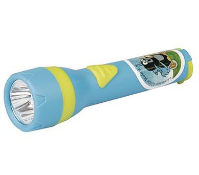 LED svítilna plastová - Krtek