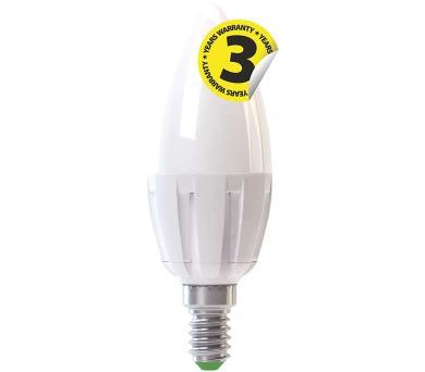 LED žárovka Premium Candle 6W E14 denní bílá