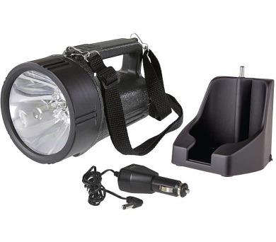 Nabíjecí svítilna halogenová + 12x LED 3810 EXPERT + DOPRAVA ZDARMA
