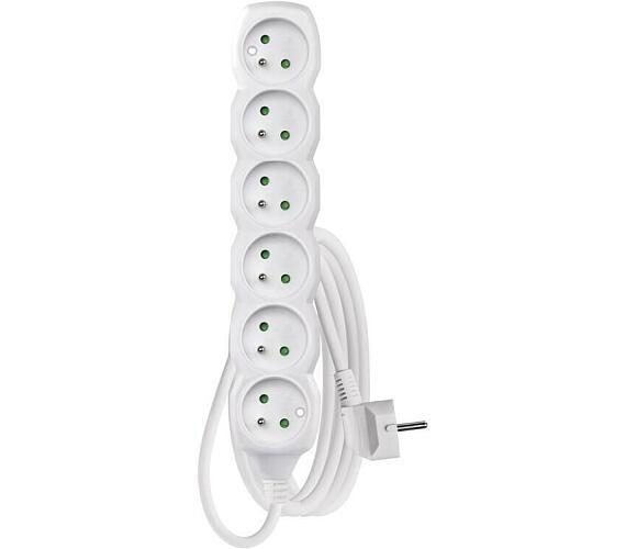 Prodlužovací kabel 6 zásuvek 3m