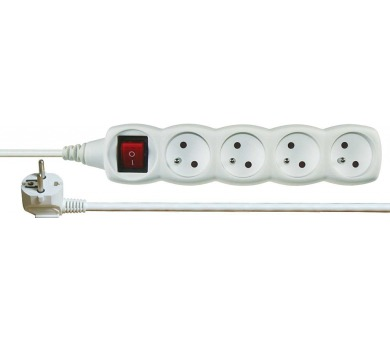 Prodlužovací kabel s vypínačem 4 zásuvky 10m