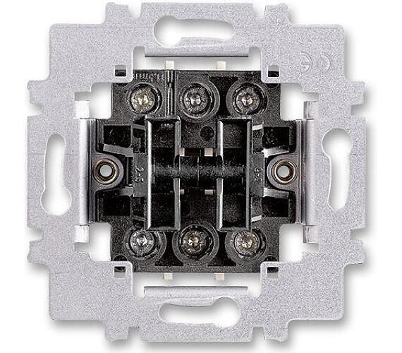 Přístroj přepínače střídavého dvoj. TANGO 3558-A52340 6+6