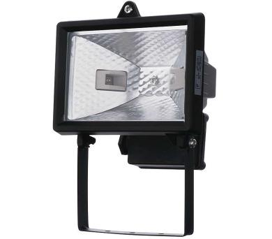 Halogenový reflektor 150W bez PIR senzoru černý