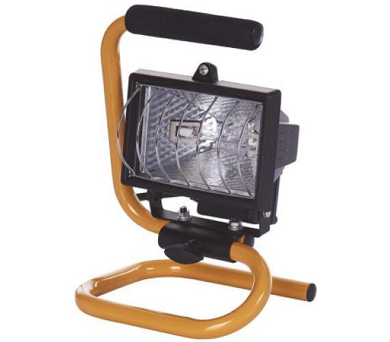 Reflektor 150W bez PIR senzoru černý s držákem + DOPRAVA ZDARMA