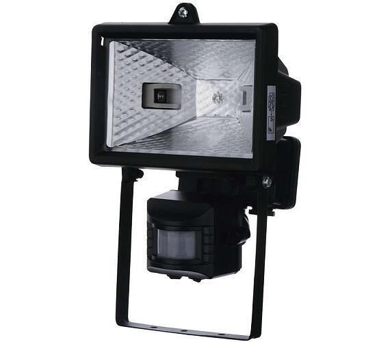 Reflektor 150W s PIR senzorem černý + DOPRAVA ZDARMA