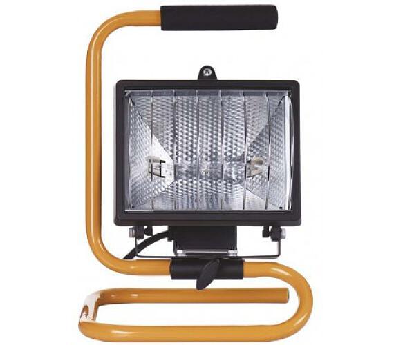 Reflektor 500W bez PIR černý s držákem + DOPRAVA ZDARMA