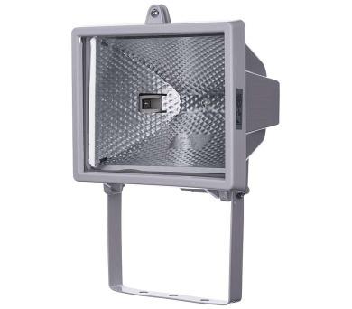 Halogenový reflektor 500W bez PIR senzoru bílý