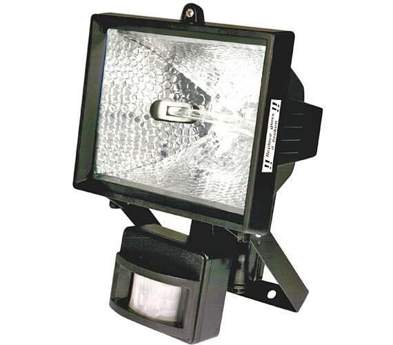 Halogenový reflektor 500W s PIR senzorem černý