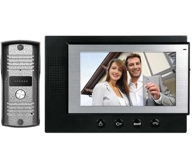 Sada videotelefonu H2012 černá + DOPRAVA ZDARMA