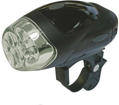 Svítilna na kolo 4x LED