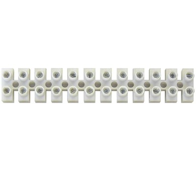 Svorkovnice 12x10,0 mm bílá