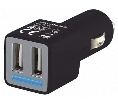 Univerzální duální USB adaptér do auta 4,8A (21W) max.