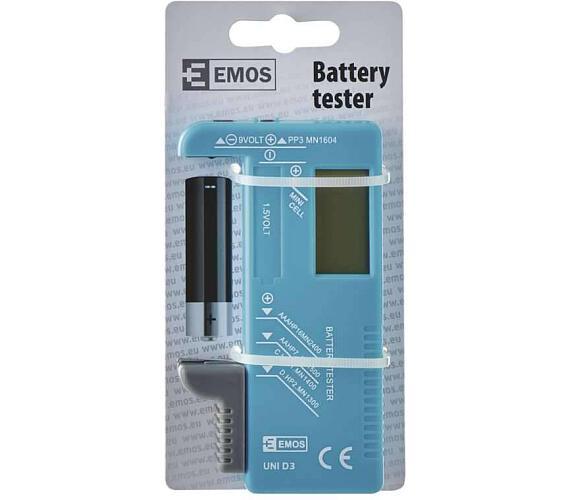 Univerzální tester baterií AA,AAA,C,D,9V