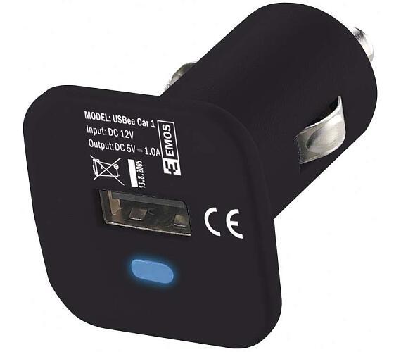 Univerzální USB adaptér do auta 1.0A (5 W) max.