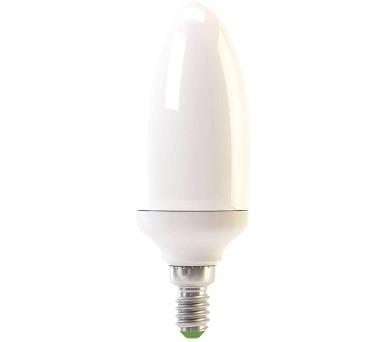 Úsporná žárovka CANDLE E14 11W teplá bílá