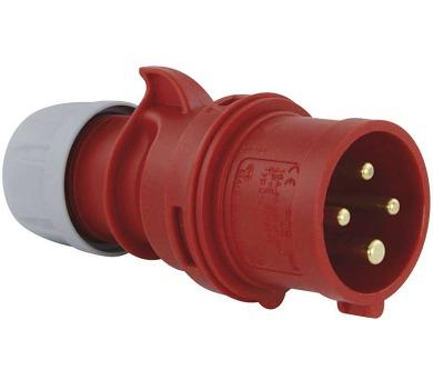 Vidlice 4P 16A/400V IP44 Twist
