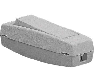 Spínač jednopólový šňůrový průchozí 3251-01919 šedý