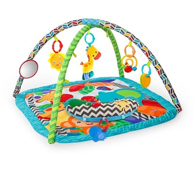 Hrací deka s hrazdou Bright Starts Silly Safari