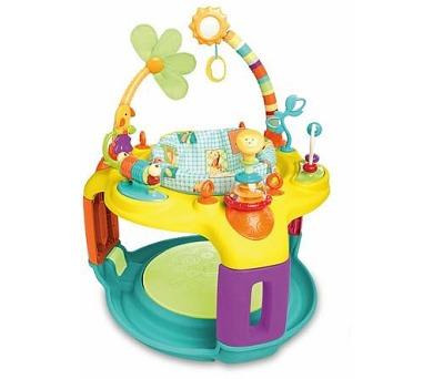 Aktivní hrací centrum Bright Starts Springin Safari Bounce-A-Round™