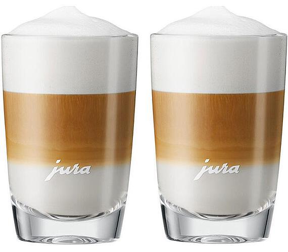 JURA Skleničky na Latte Macchiato - 2 skleničky (140 mm) + DOPRAVA ZDARMA