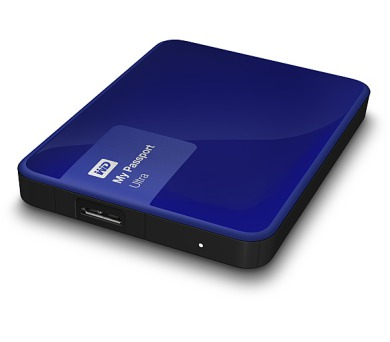 "HDD ext. 2,5"" Western Digital My Passport Ultra 500GB (NEW) - modrý"