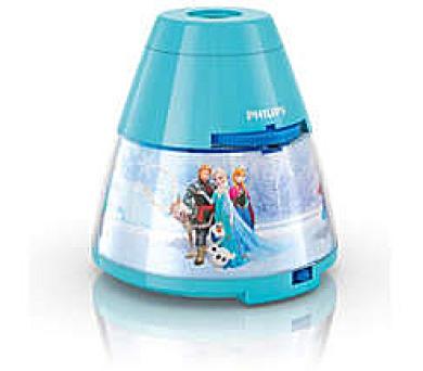 Disney Frozen PROJEKTOR LED 0,1W bez baterií Philips 71769/08/16