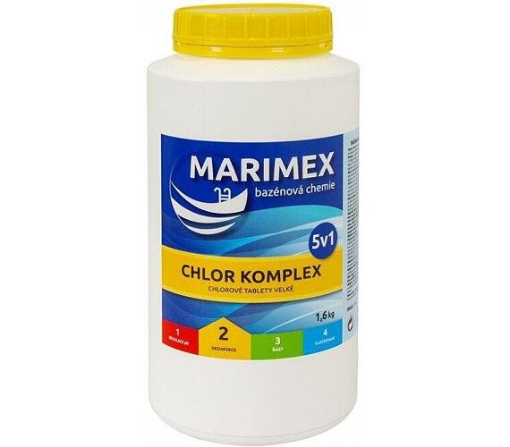 Marimex Chlor Komplex 5v1 1,6 kg + DOPRAVA ZDARMA