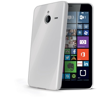Celly Gelskin pro Microsoft Lumia 640 XL / 640 XL DS - průhledný