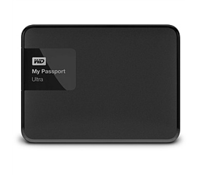 "HDD ext. 2,5"" Western Digital My Passport Ultra 1TB - černý"