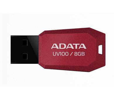 A-Data UV100 8GB USB 2.0 - červený