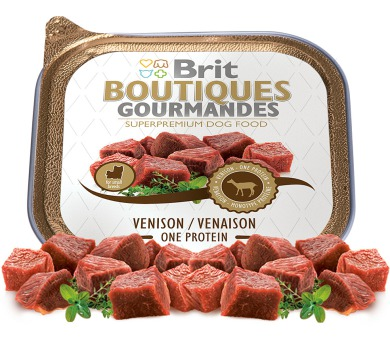 Brit Boutiques Gourmandes Venison Small Breed Meat 150g