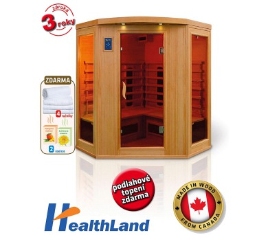 HealthLand DeLuxe 4440 CB/CR + Záruka 3 roky