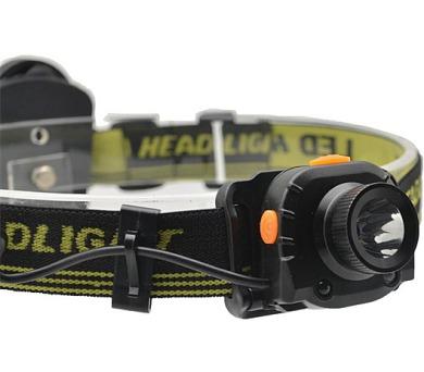 Solight čelová LED svítilna se senzorem