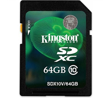 Kingston SDXC 64GB UHS-I U1 (45R/10W)