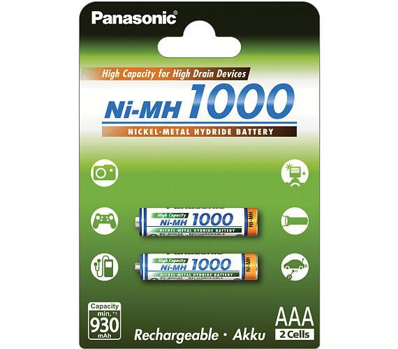 HR03 AAA 4HGAE/2BE HICAP 1000 Panasonic