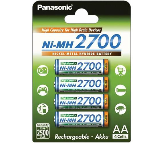 Panasonic 3HGAE/4BE AA 4x 2700mAh