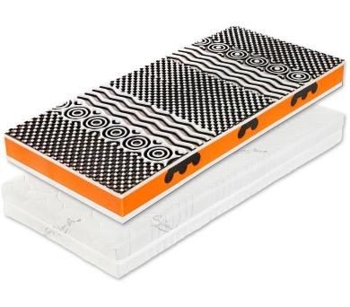 Triker 2000 - 20 cm akce 1+1 matrace (90x210) + DOPRAVA ZDARMA