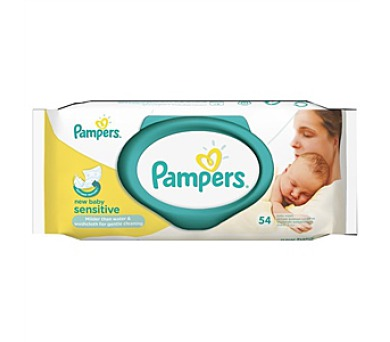 Pampers Sensitive New Baby 54ks