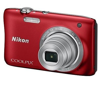 Nikon COOLPIX S2900 červený + DOPRAVA ZDARMA