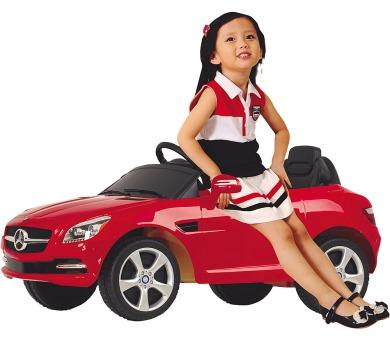 Elektrické auto Buddy Toys BEC 7019 El aut Mercedes SLK + DOPRAVA ZDARMA
