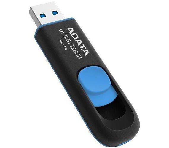 A-Data UV128 128GB USB 2.0 - černý/modrý
