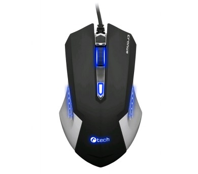 C-Tech Cronus Ultimate (GM-12) / laserová / 6 tlačítek / 3200dpi - černá