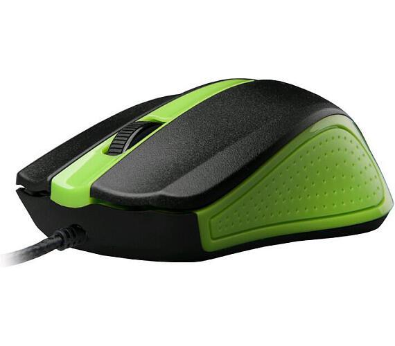 C-Tech WM-01G / optická / 3 tlačítka / 1200dpi - zelená