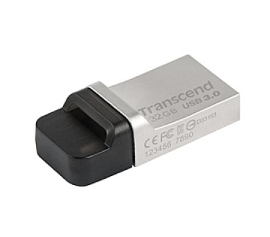Transcend JetFlash 880 32GB OTG USB 3.0 - kovový